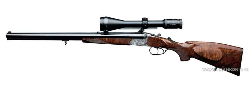 Rifle shotgun drilling, 96K Hunting, Merkel